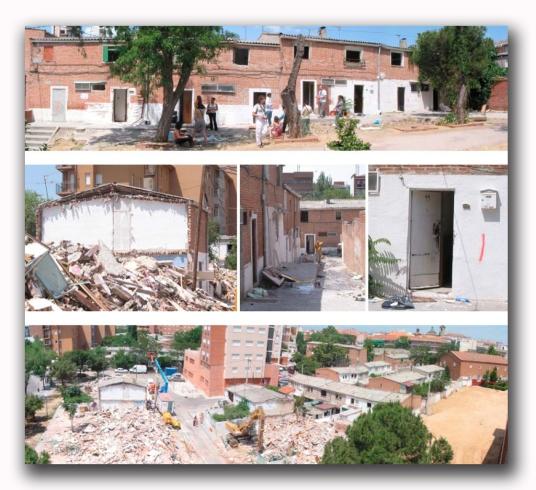 Demolición Poblado A de Fuencarral