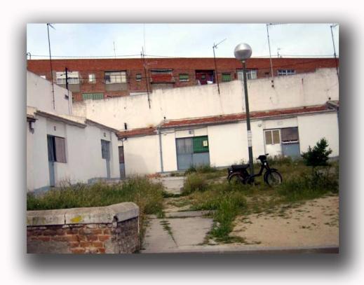 Poblado de Absorción de Fuencarral, antes de la demolición.