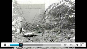 Fronton Recoletos Demolicion