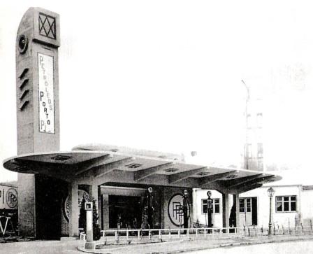 Estación de Servicio Porto P� en 1929