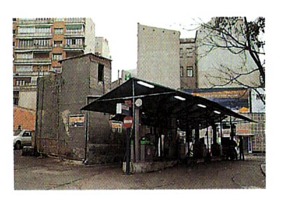 Estación de Servicio Porto P� en 1978