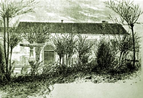22    La Quinta del Sordo  d'après un dessin de Ferrat
