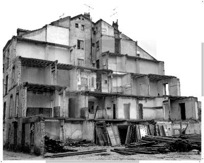 Barrio de Pozas demolicion 1970