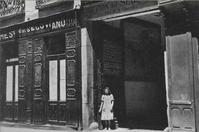MESON DEL SEGOVIANO 1952