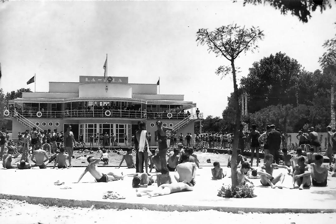 Racionalismo madrile o las piscinas urban idade for Piscina alamedilla