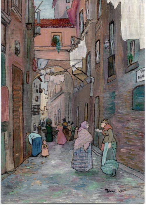 Roma - Via dei Cappellari -Milena-2007