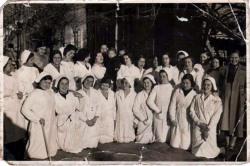 Trabajadoras de laboratorios Abello 1933