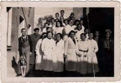 Trabajadores laboratorios abello 1933
