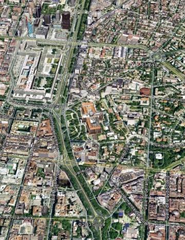 Aerea Google maps