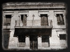 Casa en la calle Pérez Ayuso, 5. (Foto: Enrique F. Rojo, 2010)