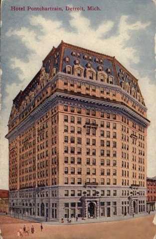 Hotel de la vendimia pontchartrain detroit