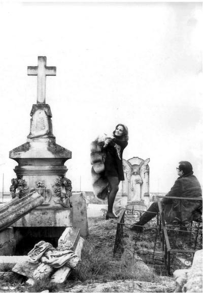 Cementerio Chamartín de la Rosa 1971-02