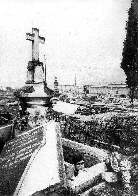 Cementerio Chamartín de la Rosa 1971-03