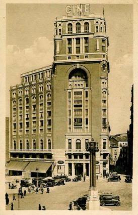 Palacio de la Prensa, 1932.