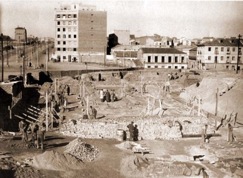 Glorieta de Lopez de Hoyos 1946