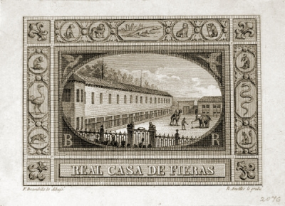Sello Casa de Fieras 1840