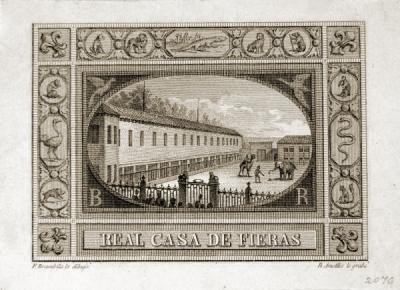 Sello Casa de Fieras 1840