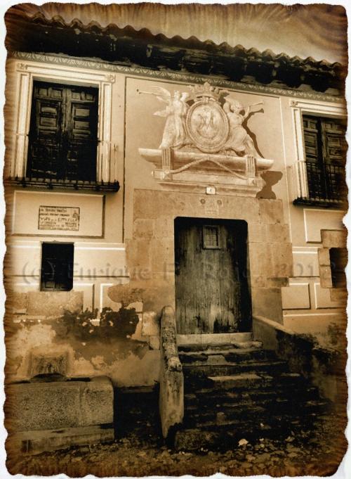 Casa en el barrio de la Estrella. (Foto: Enrique F. Rojo, 2012)
