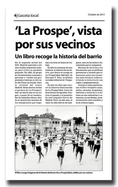 Gaceta Local-octubre 2012-2