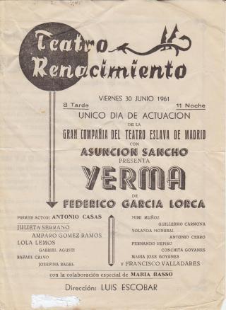 Teatro Renacimiento_Programa de mano_01_1961