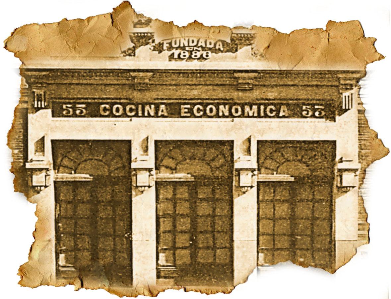 Cocina econ mica de a coru a 1886 urban idade for Cocina economica