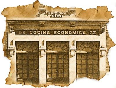 Cocina economica Coruña_papel_viejo