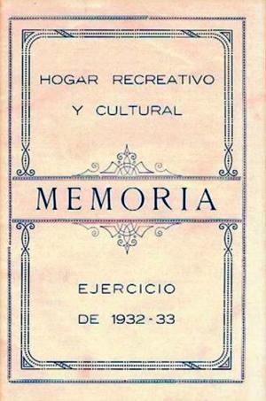 HRC Memoria 1932-33