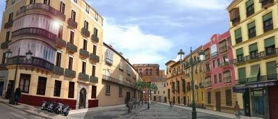 Hoyo Espartero recreación Málaga duele