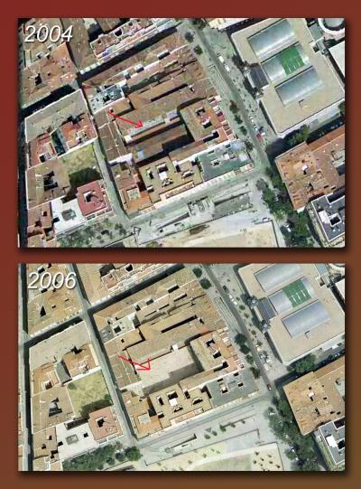 Corrala calle Santiago el Verde 13-aereas