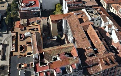 Corrala calle Santiago el Verde 13_solar O_E
