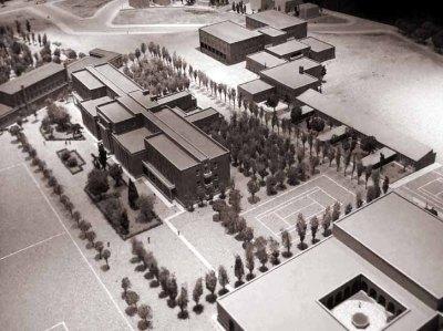 Instituto Escuela y Residencia_Maqueta