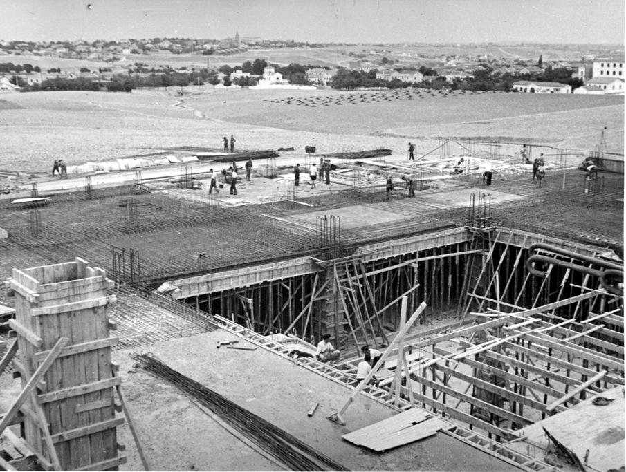 Estacion trolebuses 1951
