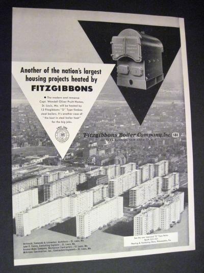 Cartel publicitario Pruit-Igoe