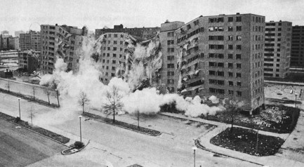 Pruitt Igoe  demolition