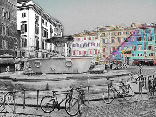 Bicicletas Piazza Farnese_2014