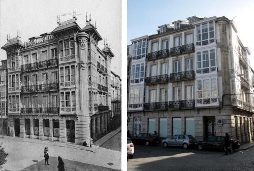 edificio de Zara homes /
