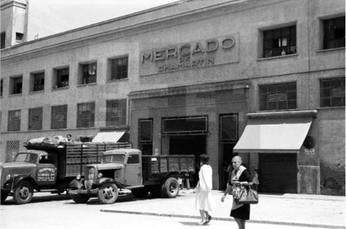 Mercado de Chamartin 1959