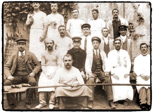 Obreros tahona 1890