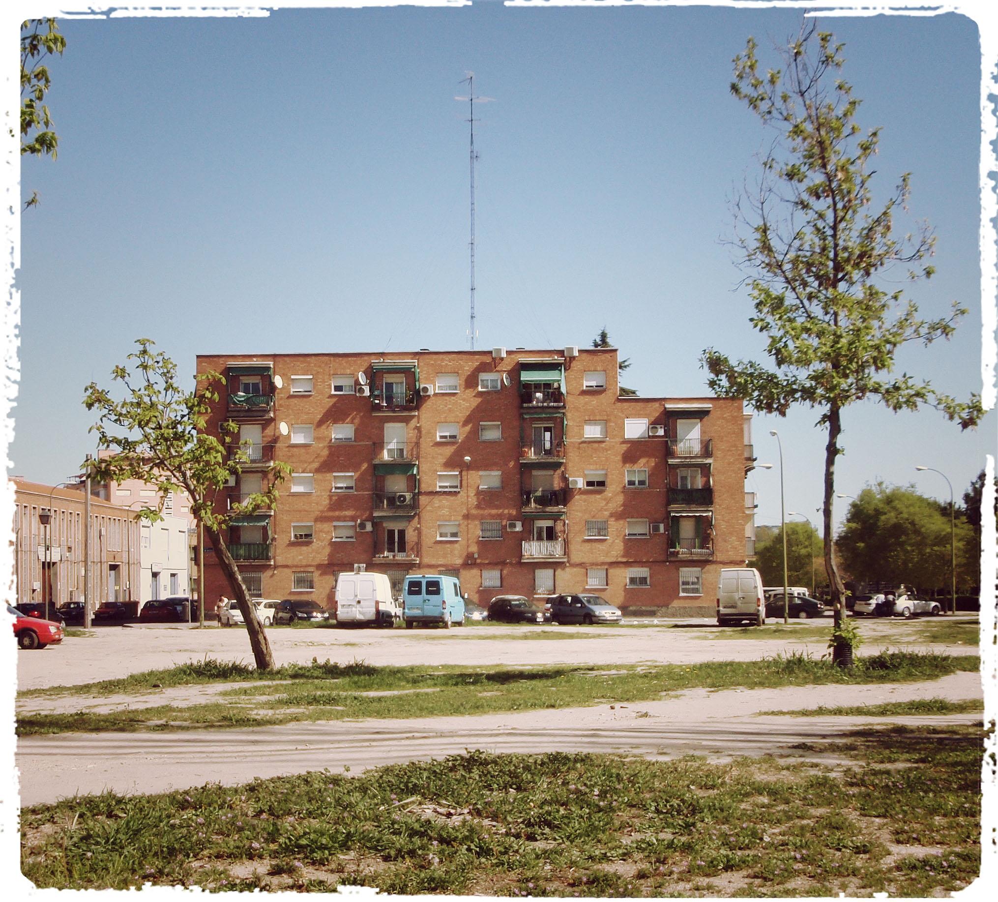 Barrio de san ferm n usera madrid urban idade for Pisos en san fermin madrid