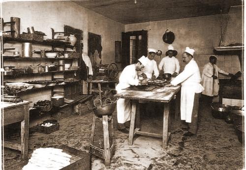 Tahona en sus inicios 1900