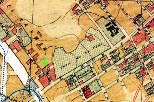 Plano Facundo Cañada 1902_Calle Recadero_Lopez de Hoyos