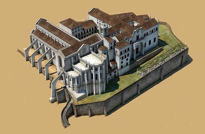 Convento do Carrmo Lisboa_Modelo