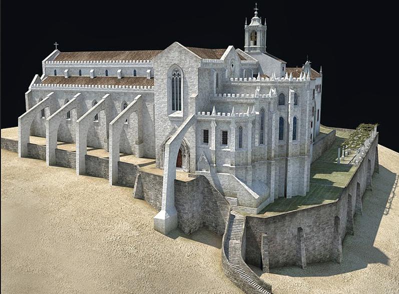 Convento do Carrmo Lisboa_Modelo02