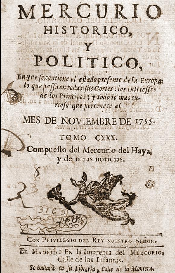 Mercurio historico 1755