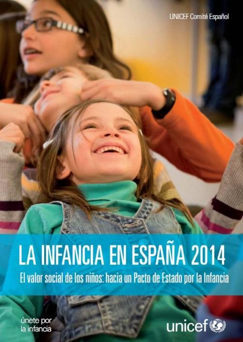 La infancia en España 2014