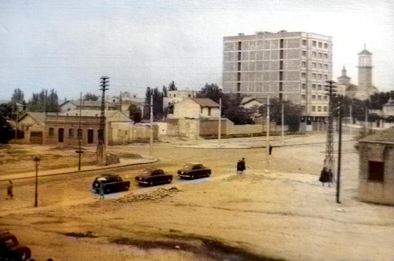 Calle de Pradillo, 1963. (Foto Mª Jesús Gutiérrez).