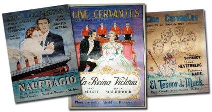 Carteles Cine Cervantes