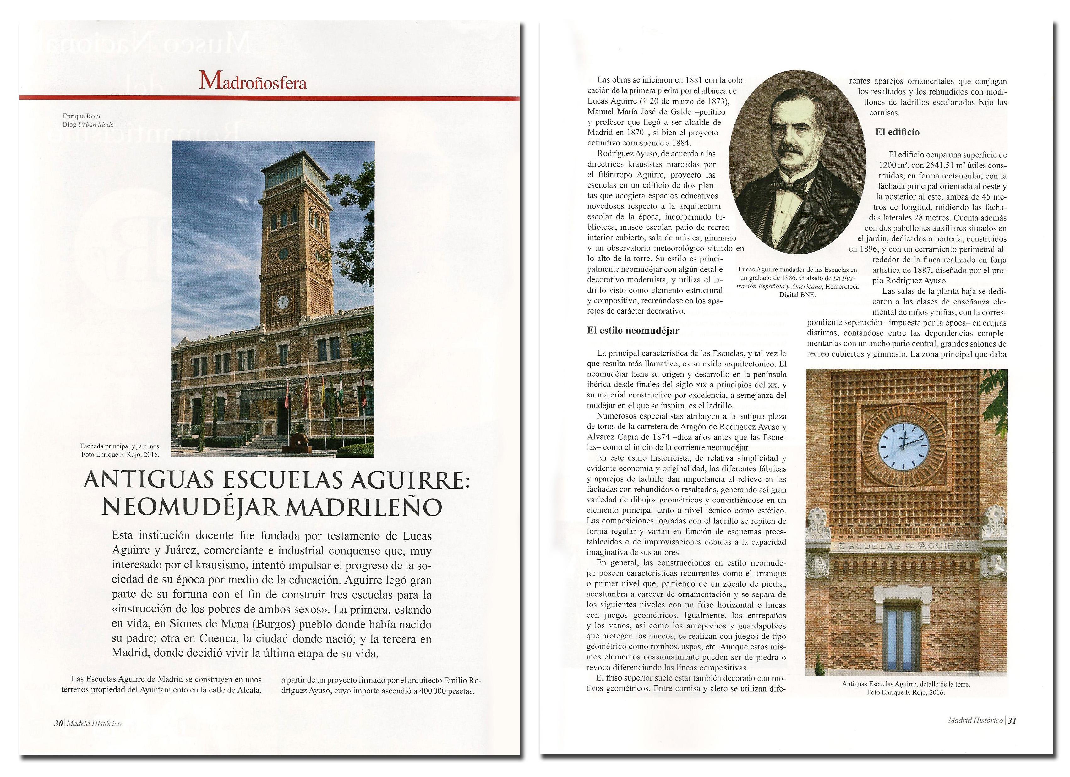Articulo Escuelas Aguirre páginas 1-2.