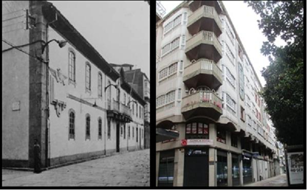 Antiguo Ayuntamiento Ferrol y Edifivio Actual.