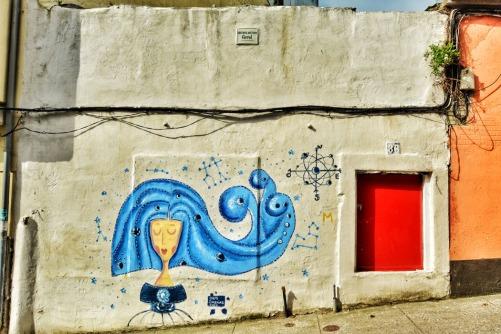 Menina en Canido, Ferrol.